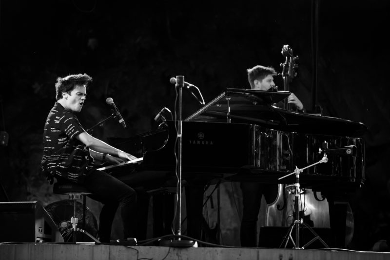 Jamie Cullum performing at the 2017 Oslo Jazz Festival (photo by Matija Puzar)