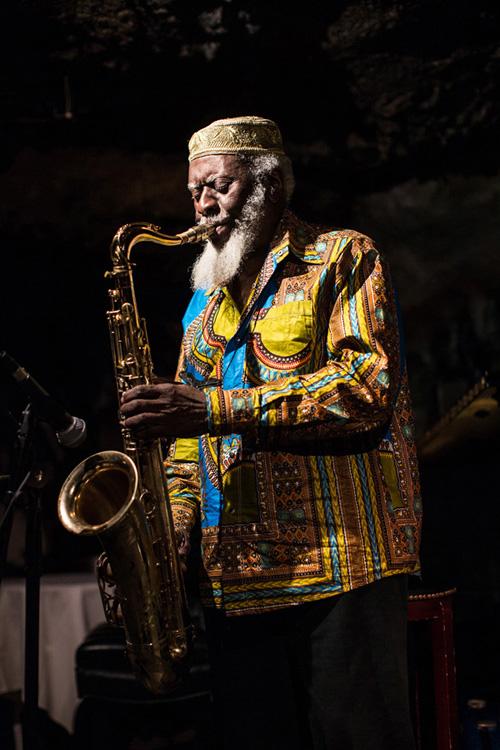 Saxophonist Pharoah Sanders