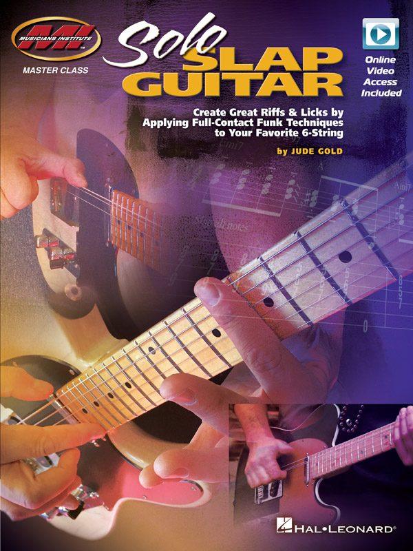 Cover of Solo Slap Guitar book