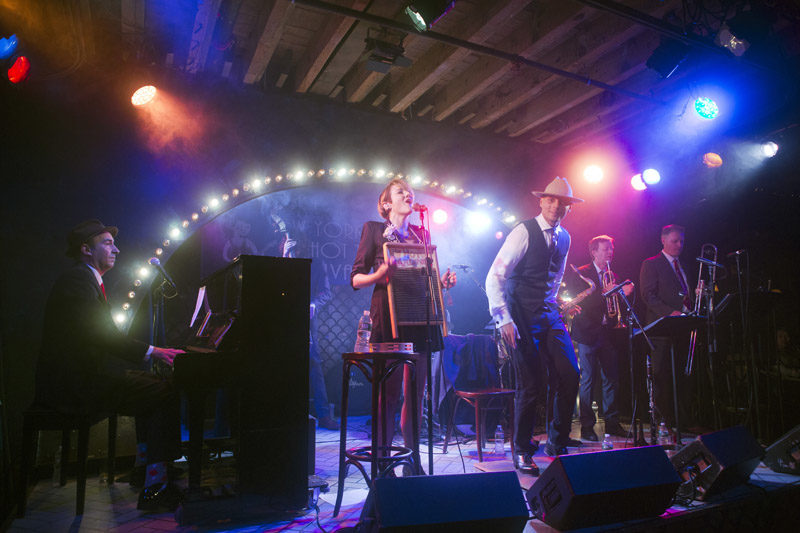 The Hot Sardines tear up the Heath Stage