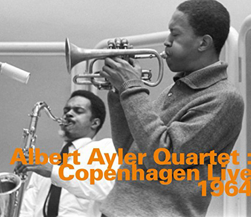 Cover of Copenhagen 1964 , album by Albert Ayler Quartet