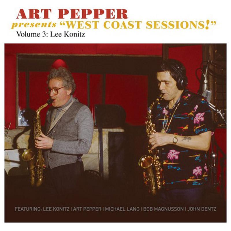 Art Pepper album cover