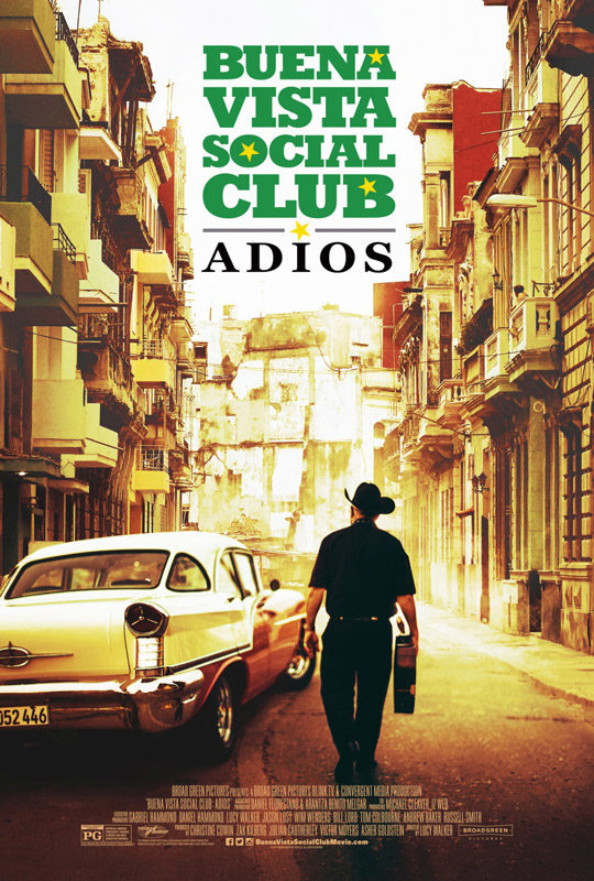 "Cover of Buena Vista Social Club album ""Adios"""
