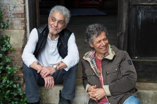 Photo of Steve Gadd and Chick Corea