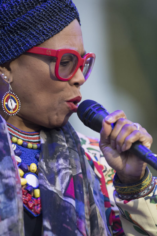 Dee Dee Bridgewater at the 2017 Detroit Jazz Festival