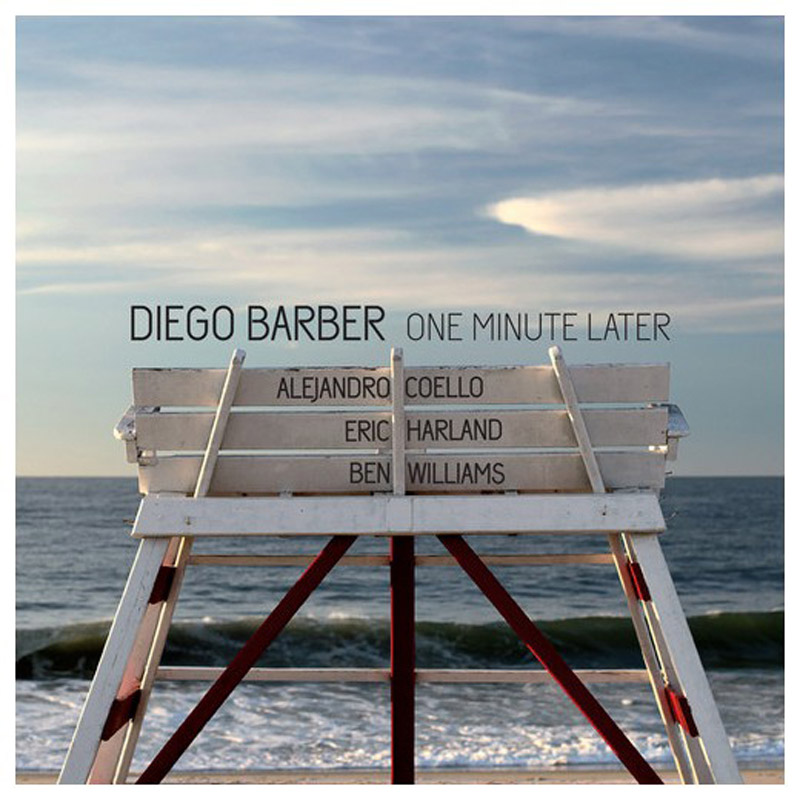 Cover of One Minute Later album by Diego Barber