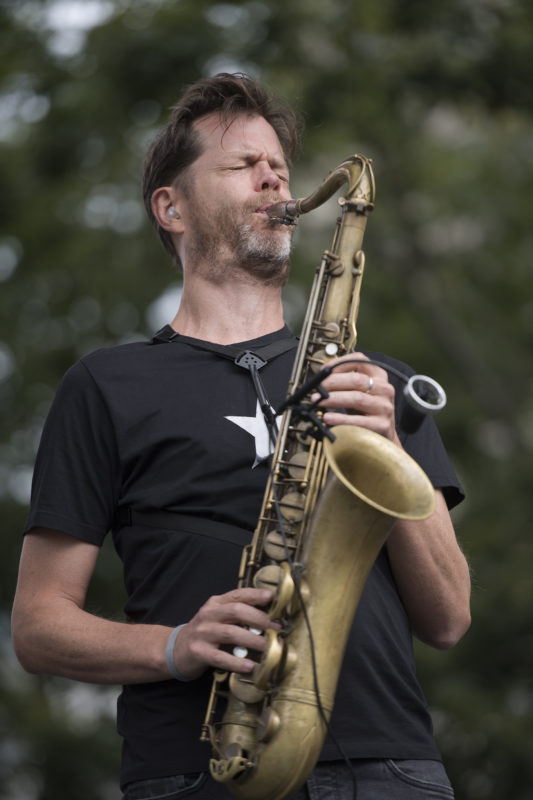 Donny McCaslin at the 2017 Detroit Jazz Festival