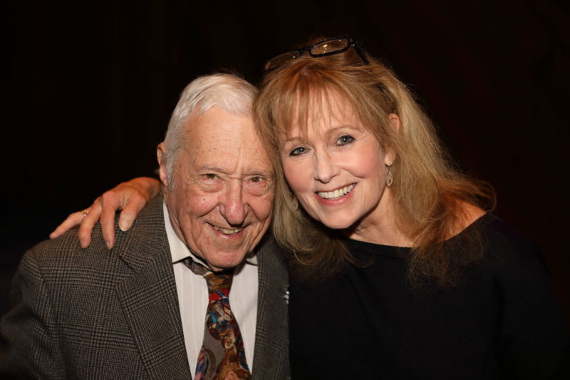Fred Taylor and Robin Young at after party for Fred Taylor Scholarship benefit concert at Berklee Performance Center (photo by Kofi Poku)