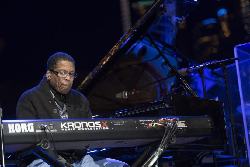 Herbie Hancock at the 2017 Detroit Jazz Festival (photo by Marek Lazarski)