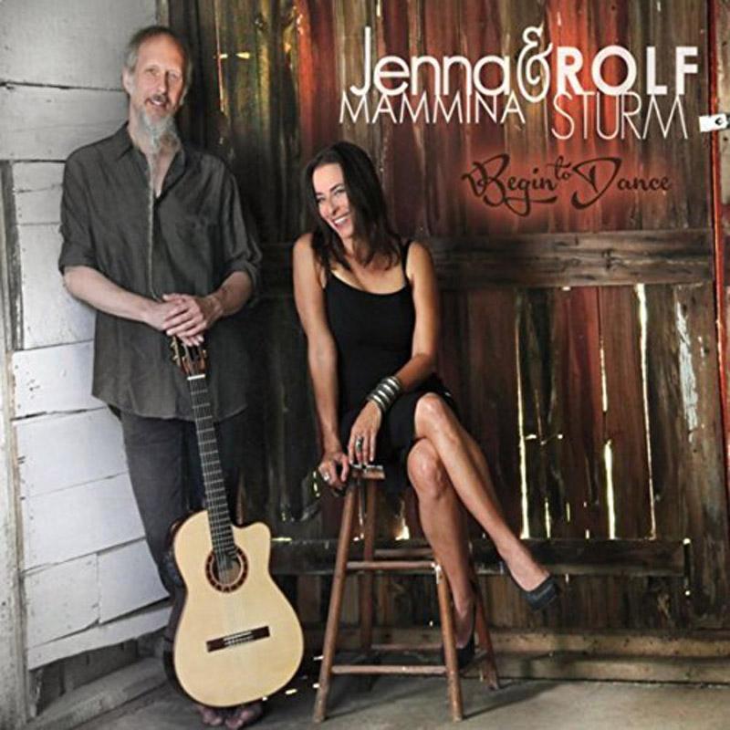 Album cover from Jenna Mammina and Rolf Sturm