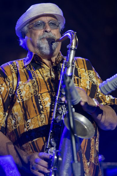 Joe Lovano at the 2017 Detroit Jazz Festival