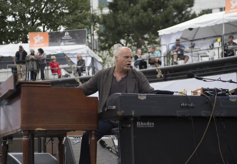 John Medeski performs in Hudson at the 2017 Detroit Jazz Festival