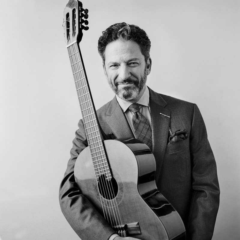 photo of John Pizzarelli for Jobim Sinatra project
