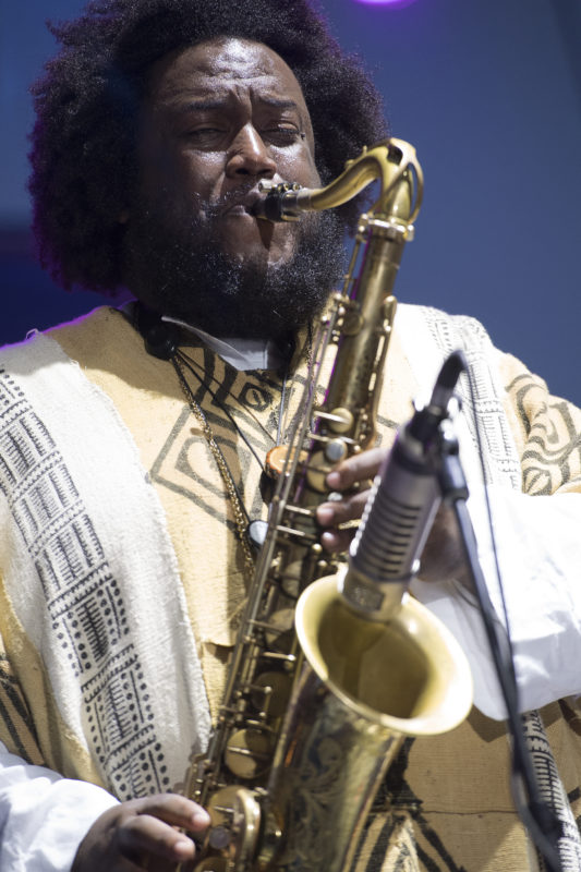 Kamasi Washington at the 2017 Detroit Jazz Festival