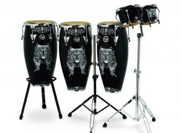 Gearhead: LP Percussion, Heritage Trumpet, Ernie Ball Bass & More