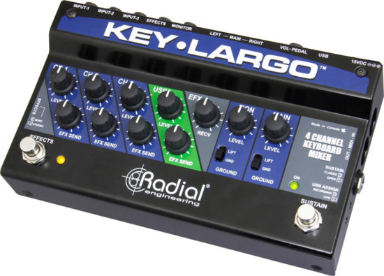 Photo of Radial Keyboard Mixer & Performance Pedal