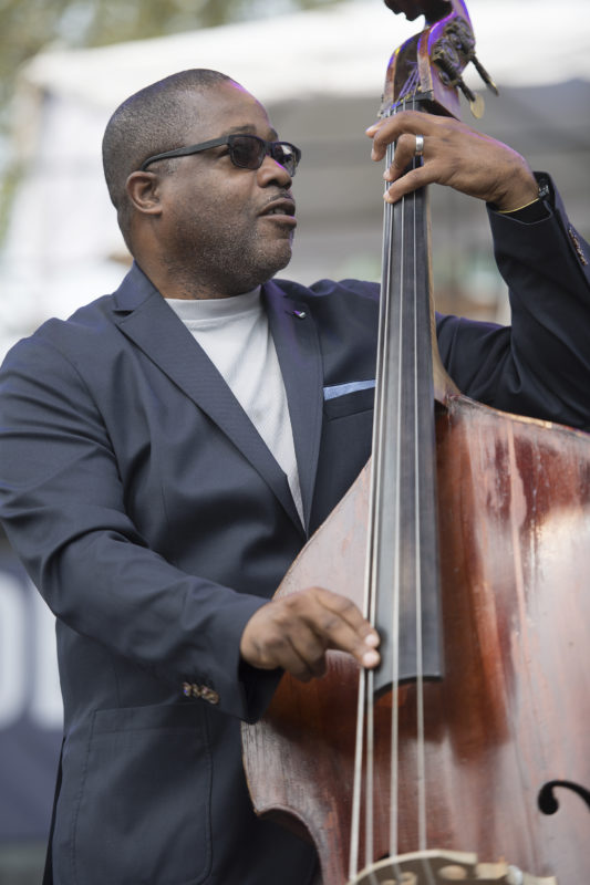 Rodney Whitaker leads his quintet at the 2017 Detroit Jazz Festival