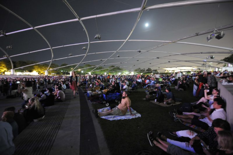Crowd at the 2017 Chicago Jazz Festival (photo c/o City of Chicago)