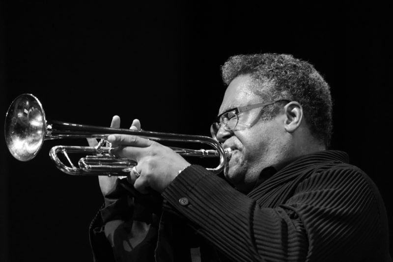 Jon Faddis performing at the 2017 Chicago Jazz Festival (photo c/o City of Chicago)