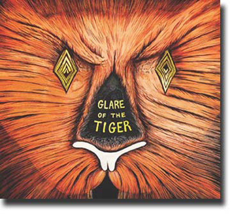 """Cover of Adam Rudolph and Moving Pictures album """"Glare of the Tiger"""""""