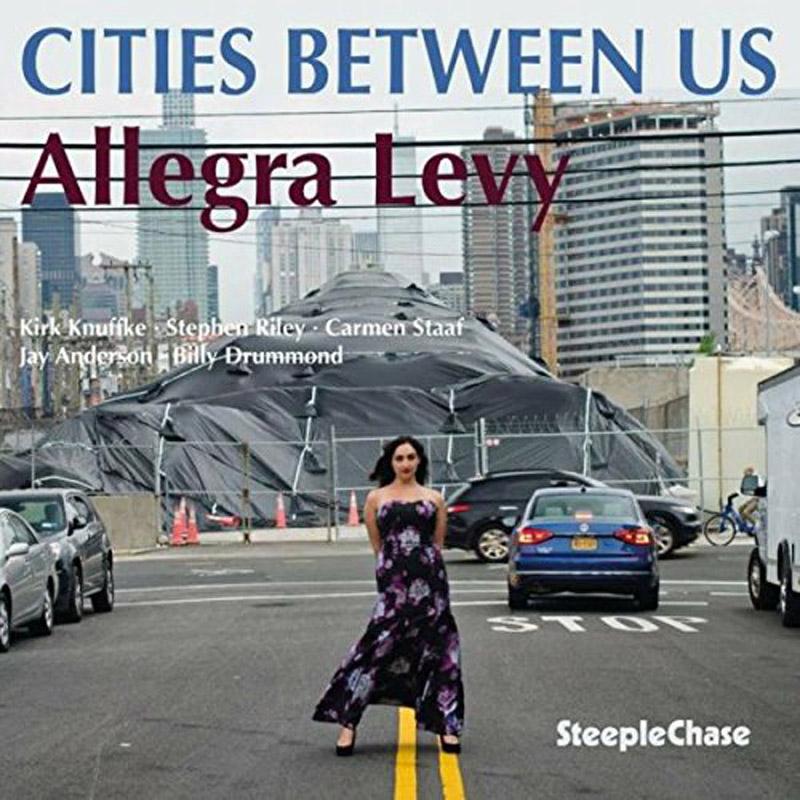 """Cover of Allegra Levy album """"Cities Between Us"""""""