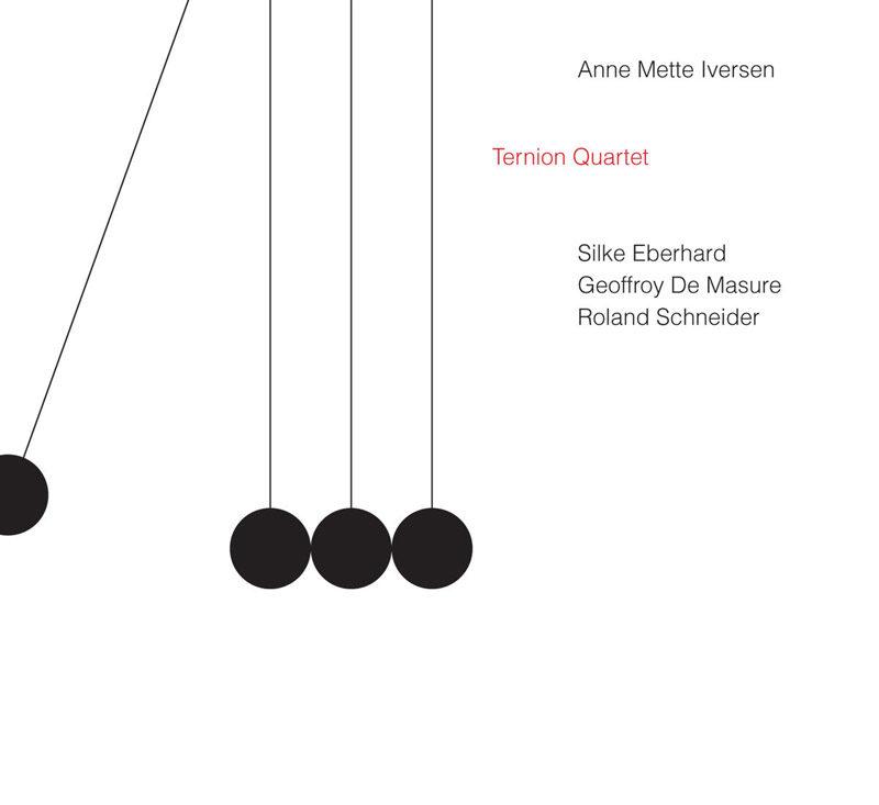 """Cover of Anne Mette Iversen album """"Ternion Quartet"""""""