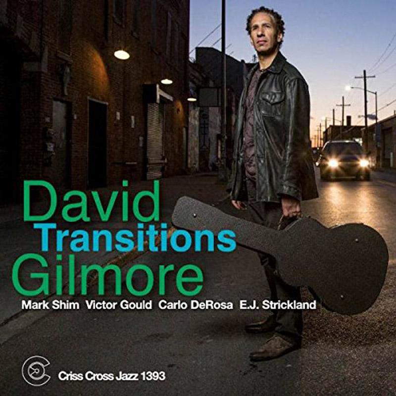 "Cover of David Gilmore album ""Transitions"""