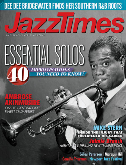 Cover of October 2017 issue of JazzTimes