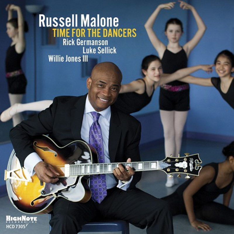 "Cover of Russell Malone album ""Time for the Dancers"""