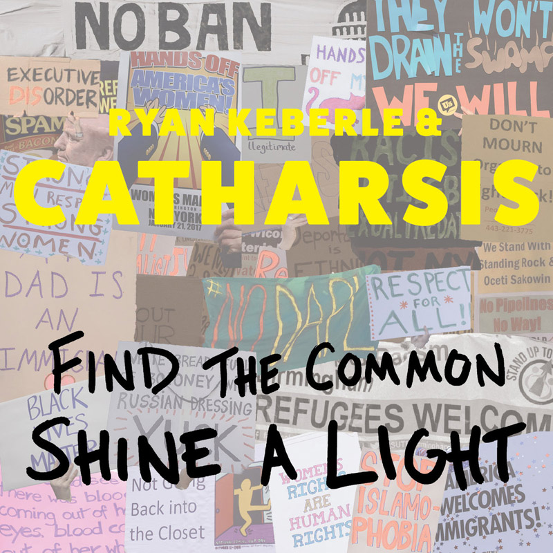 "Cover of Ryan Keberle & Catharsis album ""Find the Common, Shine a Light"""