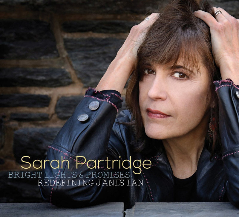 "Cover of Sarah Partridge album ""Bright Lights and Promises"""