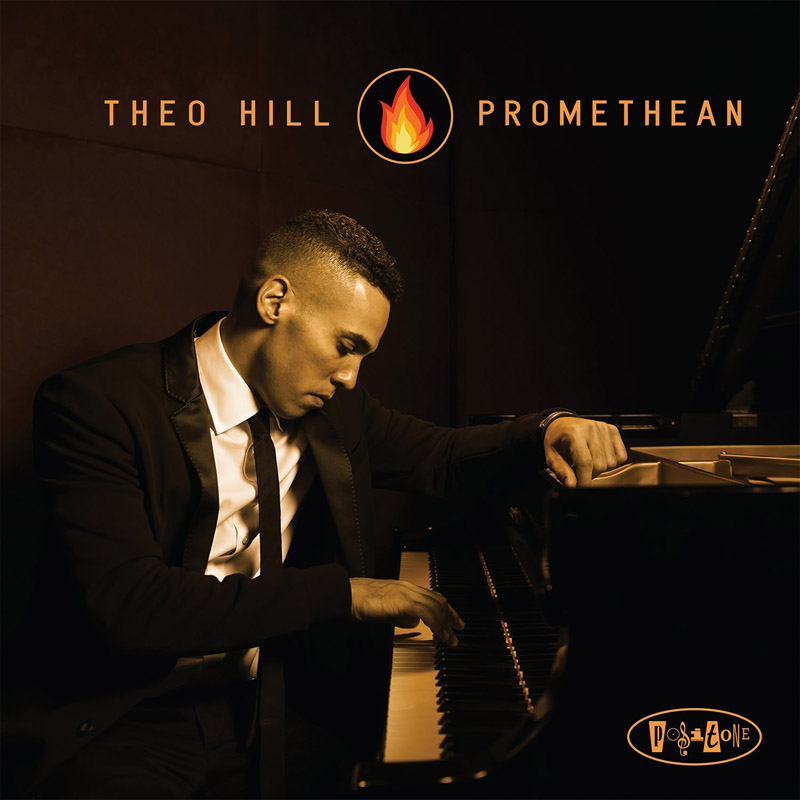"Cover of Theo Hill album ""Promethean"""