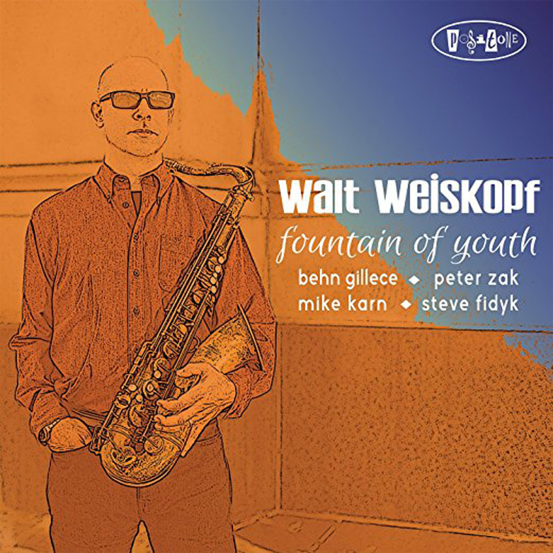 Cover of Walt Weiskopf album Fountain of Youth