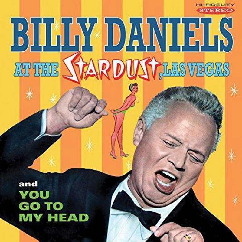 Cover of Billy Daniels album At the Stardust