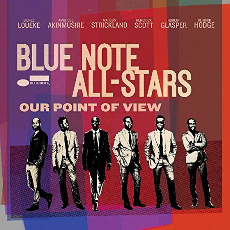 Cover of Blue Note All-Stars album Our Point of View
