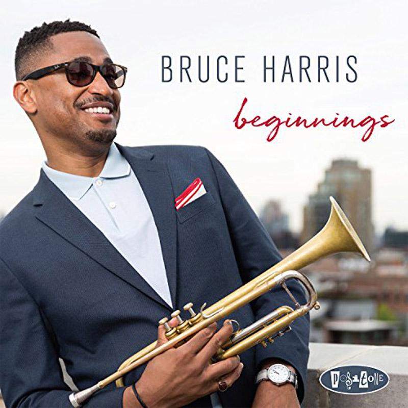 Cover of Bruce Harris album Beginnings
