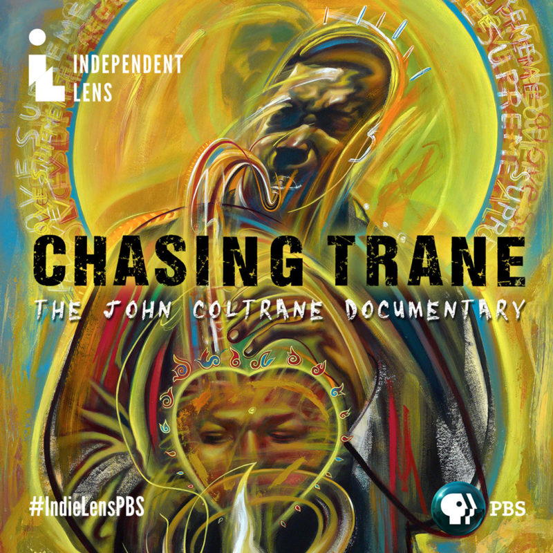 Poster for Chasing Trane documentary
