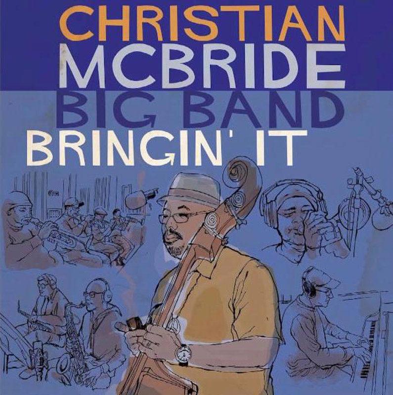 Cover of Christian McBride Big Band album Bringin' It