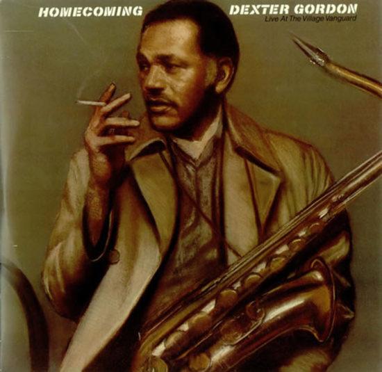 Cover of Dexter Gordon album Homecoming