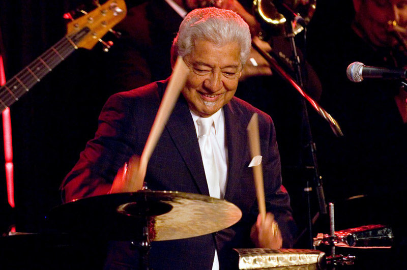 Photo of Pete Escovedo (photo by Julie Gonzalez)