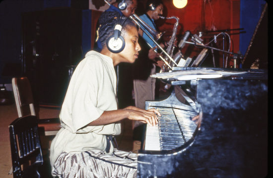 Geri Allen at Vanguard Studios in New York in 1984, age 27