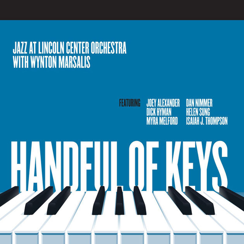 Cover of Jazz at Lincoln Center Orchestra album Handful of Keys
