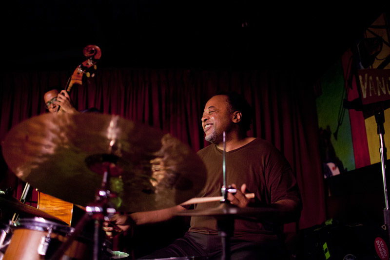"Jeff ""Tain"" Watts (photo by John Rogers) for story on drummers and composers"