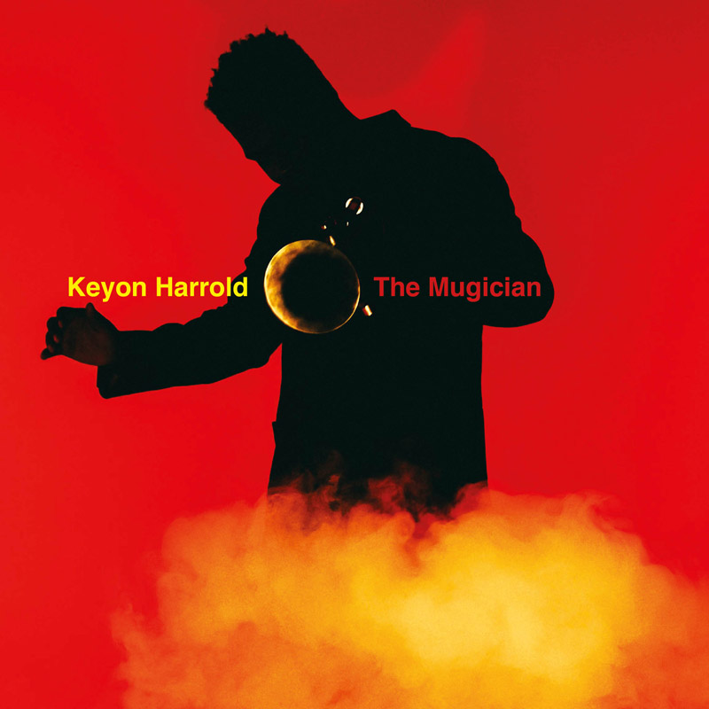 Cover of Keyon Harrold album The Mugician