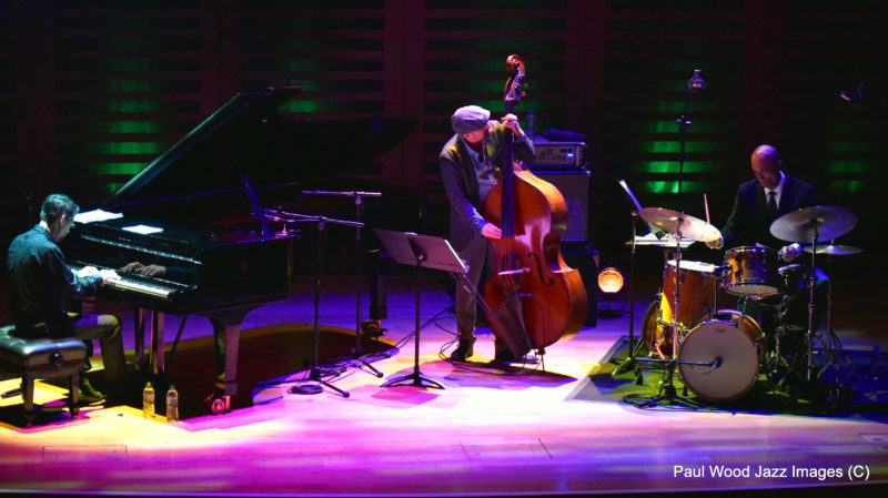 The Fred Hersch Trio performing at the 2017 London Jazz Festival (photo by Paul Wood)