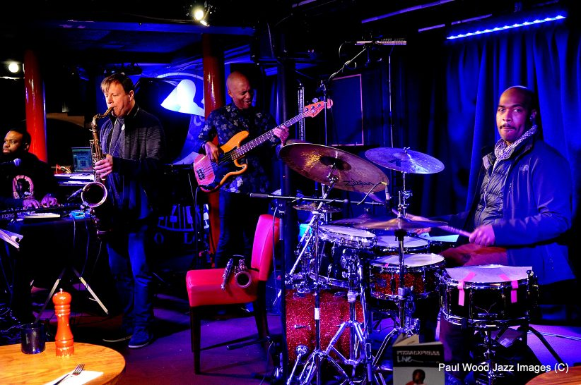Chris Potter and his group in performance at the 2017 London Jazz Festival