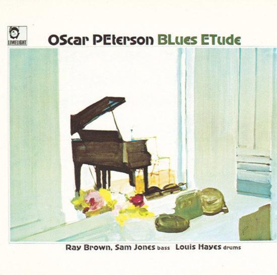 Cover of Oscar Peterson album Blues Etude