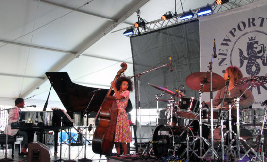 Christian Sands, Esperanza Spalding and Terri Lyne Carrington in Geri Allen tribute