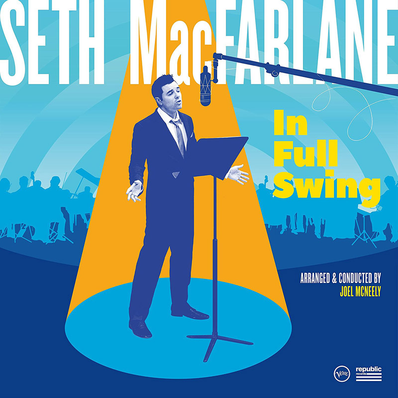 Cover of Seth MacFarlane album In Full Swing
