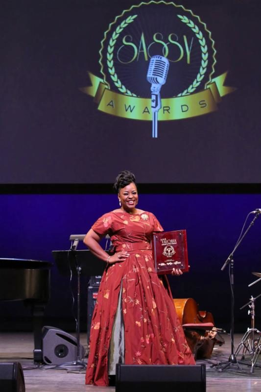 Quiana Lynell, winner of the 2017 Sarah Vaughan Competition